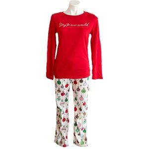 Wonder Shop Women's Long Sleeve 2 Piece Pajama Set